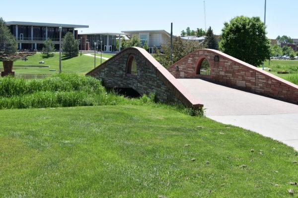 A bridge on the CSU campus.