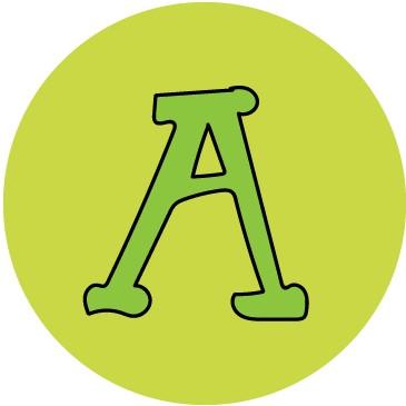 Aggie A illustration